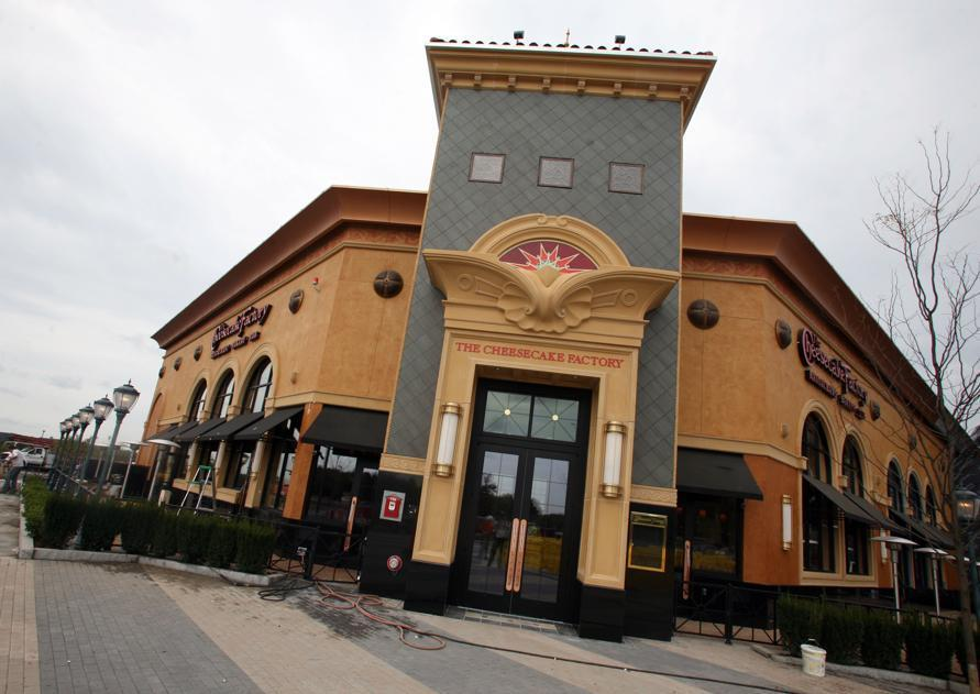 A Cheesecake Factory at the North Shore Mall in Peabody.